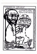 CPM Lucien METIVET Peintre J. JAURES Caricature Absinthe Tirage Limité LARDIE - Lardie