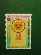 TIMBRE NEUF TUNISIE - LE SOLEIL SOURCE DE LUMIERE ET D'ENERGIE - GORGI - 100m. - NEW STAMP TUNISIA - SUN - Tunisie (1956-...)