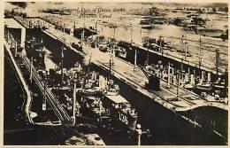 Ref G378- Canal De Panama -panama - View Of Gatun Locks  - Carte Bon Etat -postcard In Good Condition - - Panama