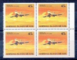 Iles MARSHALL  Timbres Neufs ** De 1989 ( Ref 4040 )  Avion - Marshall Islands