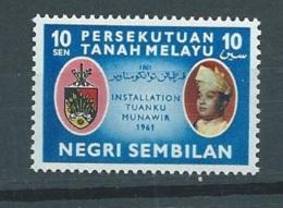 Malaisie Negri Sembilan  - Yvert N° 72 **  - Ava5706 - Negri Sembilan