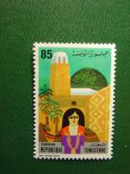 TIMBRE NEUF TUNISIE - TOZEUR - FARHAT SAFIA - 85m - NEW STAMP TUNISIA - Mosquée Minaret - Tunisie (1956-...)