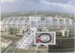 Berlin 1989 Kongress Der Intern. Organisationen Der Obersten Rechnungskontrollbehörden 1v Maxicard (32905) - [5] Berlijn