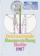 Berlin 1987 Internationale Bauausstelling Berlin 1v Maxicard (32906) - [5] Berlijn