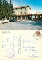 Albergo Ristorante Buscaglia Cars, Passo Penice, PC Piacenza, Italy Postcard Posted 1976 Stamp - Piacenza