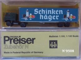 Semi-remorque Preiser - Road Vehicles