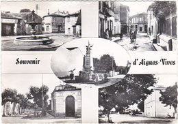 30. Gf. Souvenir D'AIGUES-VIVES. 5 Vues. 7 - Aigues-Vives