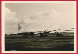 Foto Mit SAS Flugzeug ~ Um 1955 - 1946-....: Moderne