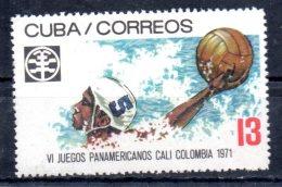 CUBA  N° 1478  * *  ( Cote 2e ) Water Polo