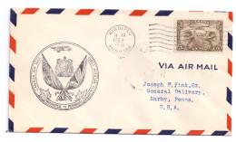 Canada FFC Winnipeg To Pembina Feb 2 1931 First Flight Airmail Cover Cachet - First Flight Covers