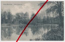 Ham (Somme) - Park Estouilly - 1915 - Feldpoststempel Landsturm-Jäger-Bataillon 2 Halle - Ham