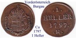 DL-1797 H, 1 Heller, Burgau/Günzburg - Small Coins & Other Subdivisions