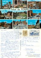 Pompei, Italy Postcard Posted 1970 Stamp - Pompei