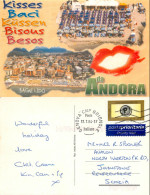 Andora, SV Savona, Italy Postcard Posted 2004 Stamp - Savona