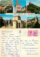 Multiview, San Marino Postcard Posted 1965 Stamp - San Marino
