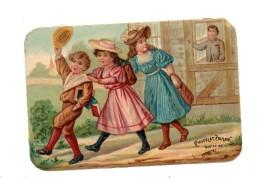 Chocolat Poulain.Chromo. A L'Ecole. Sortie. - Poulain