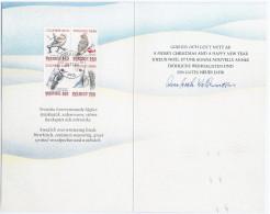 Sweden Sverige 1984 FDC Booklet Bird Birds Fauna - Carnets