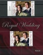 2011 - NIUE - NOZZE REALI / ROYAL WEDDING. MNH - Niue