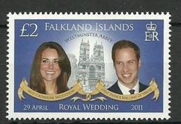 2011 - FALKLAND - NOZZE REALI / ROYAL WEDDING. MNH - Falkland