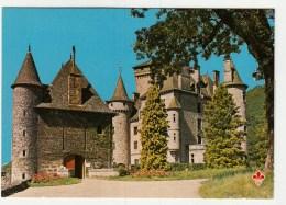 15 - Vallée De La Cère. Polminhac - Château De Pesteils (ticket D´entrée Au Dos) - France