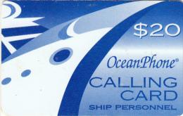 US VIRGIN ISLANDS - Oceanphone By Itelsa Satelite Prepaid Card $20 Exp.date 31/12/00, Used