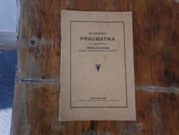 Sluzbena Pragmatika Za Namestenike Herceg Bosne  Beograd 1928 - Libri, Riviste, Fumetti