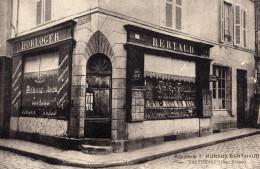 Parthenay Deux Sèvres Bijouterie Huraux Berthaud Carte Postale Publicitaire D´entreprise Montre Bijou Pendule Orfevrerie - Parthenay
