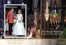 2011 - BAHAMAS - NOZZE REALI / ROYAL WEDDING. MNH - Bahamas (1973-...)