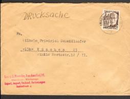 Fr.Zone Rheinl.-Pf. 6 Pfg. Mi.Nr.17 Auf Drucksache Vom 18.9.48 Aus Frankenthal - Zone Française