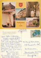 Lodz, Poland Postcard Posted 1986 Stamp - Pologne