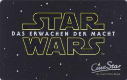 Gift Card  - - -  Germany  - - -  CineStar  - - -  Star Wars - Gift Cards