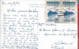 Congress Road Shooting Rio De Janeiro 1959.Stamps And Obliteration Congress.Postal Botafogo.Sugar Loaf.Rar.Archite.2sca - Architecture