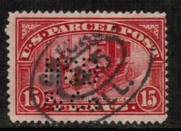 U.S.A.  Scott # Q 7 F-VF USED PERFIN - Parcel Post & Special Handling