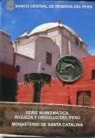 Lote PM2011-2, Peru, 2011, Moneda, Coin, Folder, 1 N Sol, Monasterio De Santa Catalina, Saint - Perú