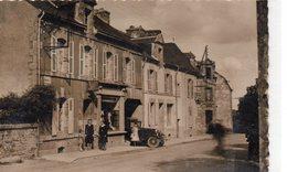 Pluméliau.. Animée La Grande Rue Commerce Mercerie Café Voiture - France
