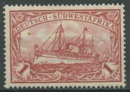 Deutsch-Südwestafrika 1919 Kaiseryacht Hohenzollern 29 B Mit Falz - Kolonie: Deutsch-Südwestafrika
