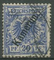 Kamerun 1897 Krone/Adler Mit Aufdruck 4 Gestempelt