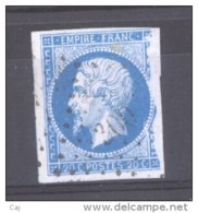 CLX 125  :  YV  14  (o)  PC  300  La Bazoge - Marcophily (detached Stamps)