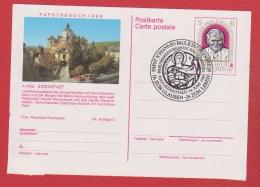 Autriche  --  Entier Postal --  Pape Jean Paul II