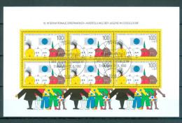 BUND Block Nr. 21 - 10. Internationale Briefmarkenausstellung Der Jugend Ersttags - Gestempelt - BRD