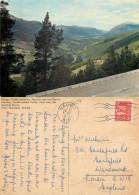 Sel Towards Dovre, Gudbrandsdal Valley, Norway Postcard Posted 1973 Stamp