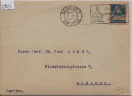 1928 Tell 160/169x Flamme: Geneve Le Schnaps Ruine La Famille Et La Race! Pour München - Suisse