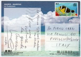 ILE MAURICE/MAURITIUS - LES FLAMBOYANTS / THEMATIC STAMP-FISH - Mauritius