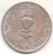 GRANDE EXPOSICAO DE GOIANIA PECUARIA AÑO  1975 MEDAILLON MEDALLON GOVERNO DE GOIAS BRESIL BRAZIL BRASIL - Firma's