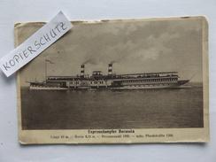 Köln-Düsseldorfer Rheindampfschiffahrt, Expressdampfer Borussia, 1913 - Allemagne