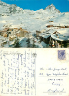 Breuil Cervinia, Val D'Aosta , Italy Postcard Posted 1972 Stamp - Aosta