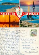 Cattolica, RN Rimini, Italy Postcard Posted 1985 Stamp - Rimini