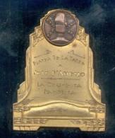 PROGRAMA RADIAL FAMOSO PLATEA DE LA TARDE AÑO 1951 BUENOS AIRES A JUAN D'ARIENZO POR SER LA ORQUESTA FAVORITA RECONOCIDA - Firma's
