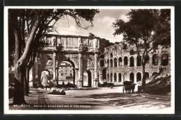 AK Roma, Arco Di Constantino E Colosseo - Sin Clasificación