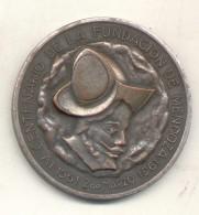 IV CENTENARIO DE LA FUNDACION DE MENDOZA - ARGENTINA 1561-1961 MEDALLA - II CONGRESO DE LA HISTORIA DE CUYO - Firma's